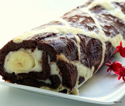 kremalı zürafa kek
