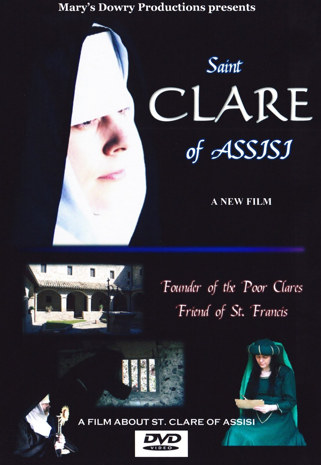 Saint Clare of Assisi DVD