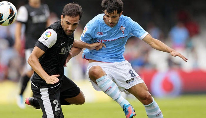 Celta Vigo vs Malaga en vivo