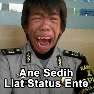 Ane Sedih Liat Status Ente gambar comment facebook