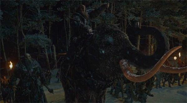 Juego de Tronos 4x09 - Mamuts y Gigantes