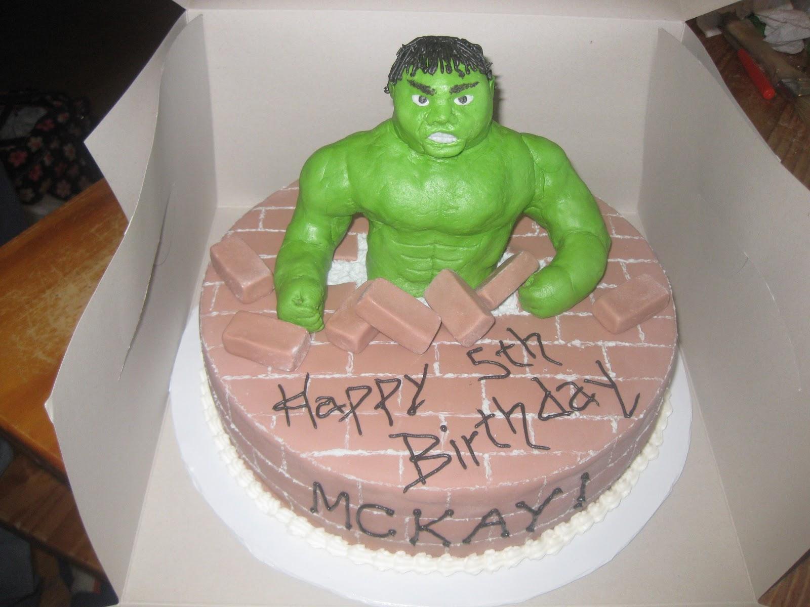Cakes by Janelle: Hulk birthday cake