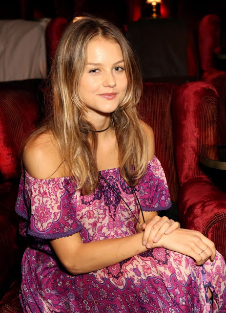Actress, Model, @ Isabelle Cornish - 'Jane Got A Gun' Tastemaker Screening in West Hollywood