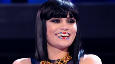 Jessie J, British smile, from performance at Britain's Got Talent, 2 June 2001.