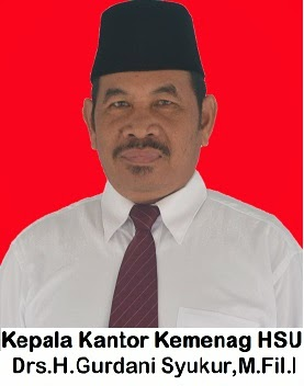 Kepala Kantor Kemenag Kab. HSU