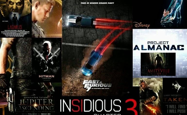 Daftar Film Bioskop hollywood Terbaru 2015