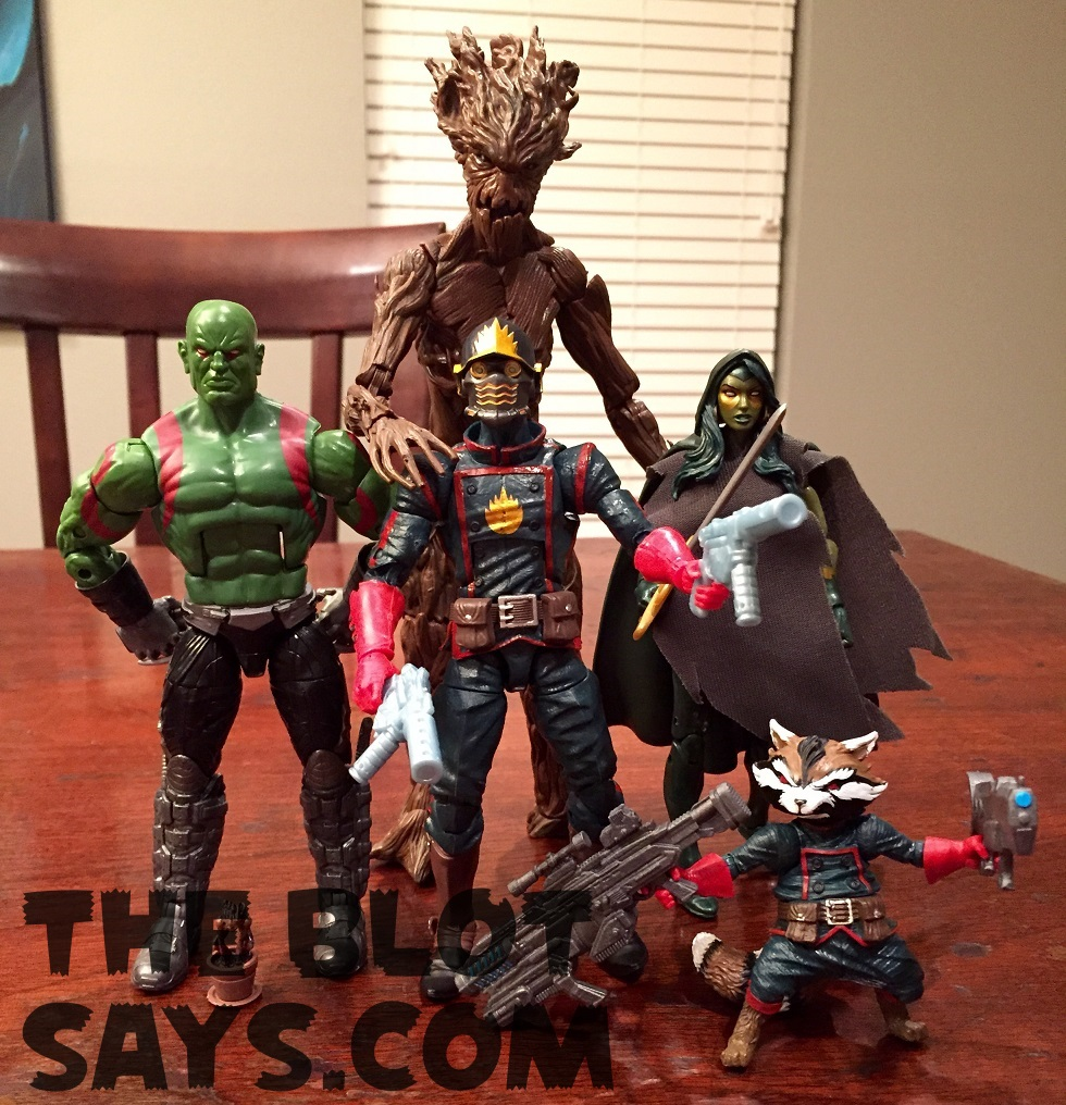 The Blot Says...: Toy Review: Guardians of the Galaxy Comic Book ...