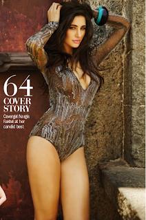 Nargis Fakhri – In Bikini for Filmfare Magazine July 2014 Photos