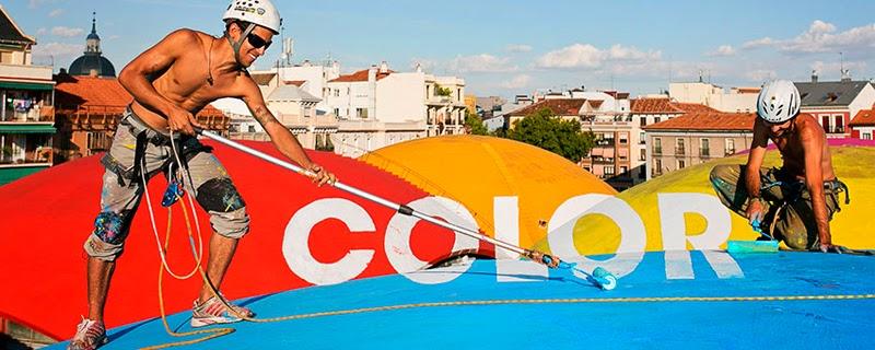 BoaMistura convierte las calles en color y en mensajes positivos