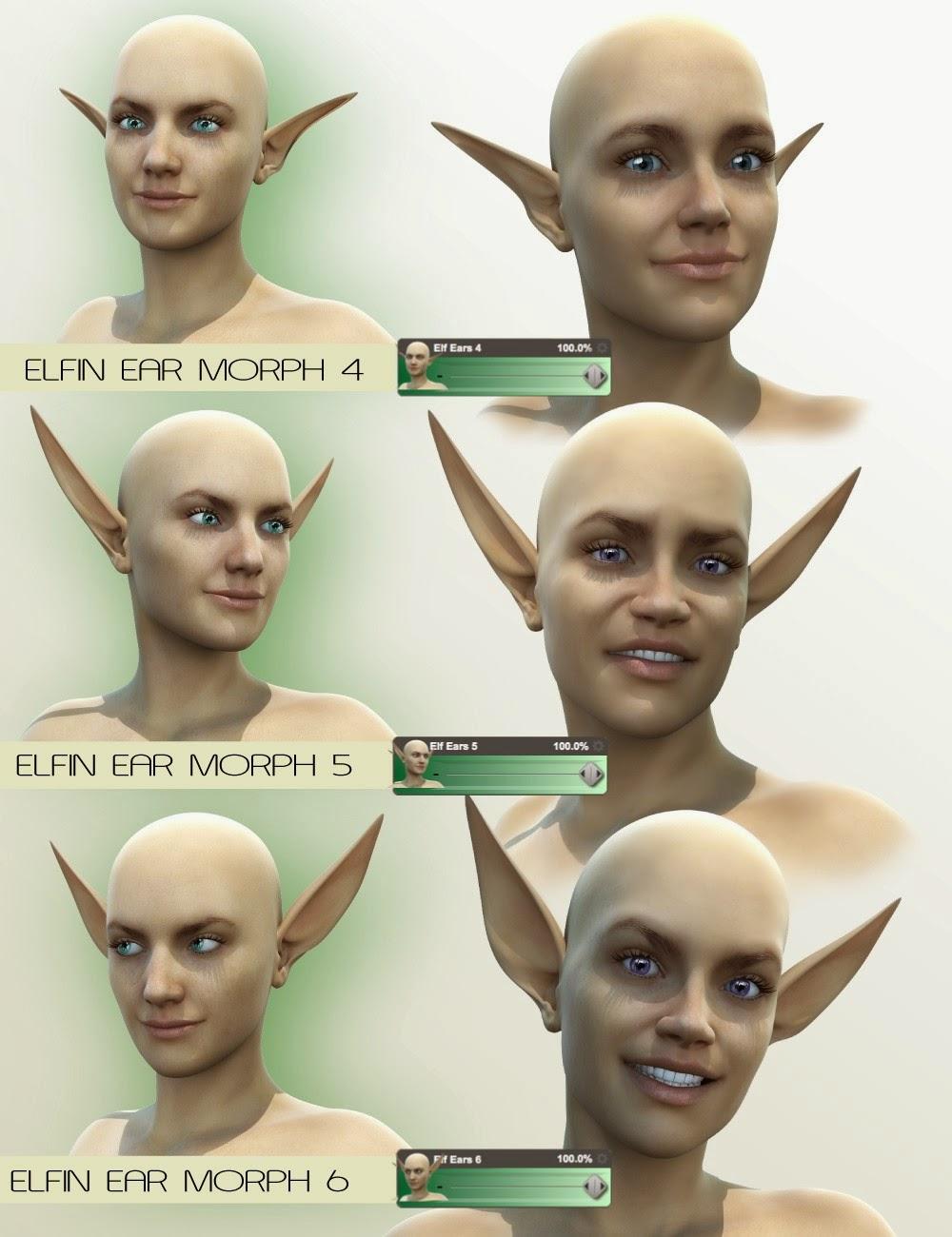 Mad Elf - Oreilles Genèse 2 Femme Elven