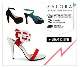 Pusat Fashion Online Zalora