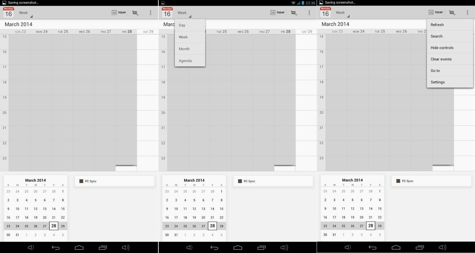 Qube PhoneTab Review: Double The Fun Calendar
