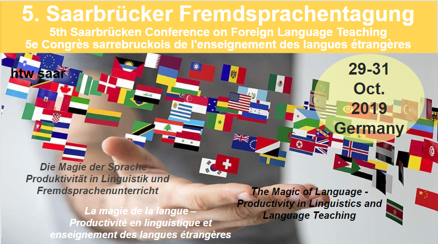 5. Saarbrücker Fremdsprachentagung - Fifth Saarbrücken Conference on Foreign Language Teaching - 5e