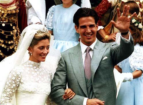 Yesterday July 1 Was The 15th Wedding Anniversary Of Crown Prince Pavlos Greece And Marie Chantal Miller Because I Can T Believe It S Been That Long