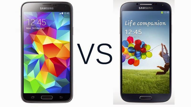 Samsung Galaxy S5 ile S4 Karşılaştırması