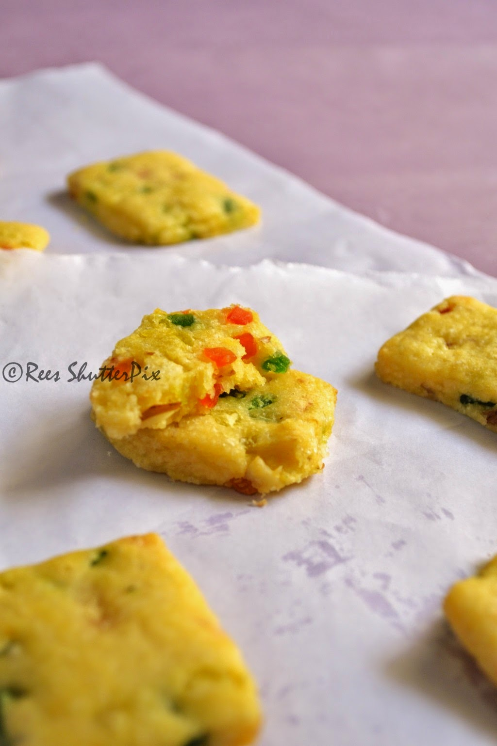 Cookie Recipe, Eggless Baking, Tutti Frutti Cookies Recipe, how to make tutti frutti cookies, easy cookie recipe, step wise pictures for making cookie, quick cookies recipe, butter cookie recipe, microwave cooking, candied fruits cookies