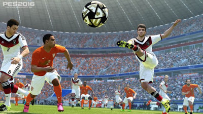 Free Download Pro Evolution Soccer 16 Gameplay