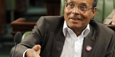 président de la République provisoire, Moncef Marzouki