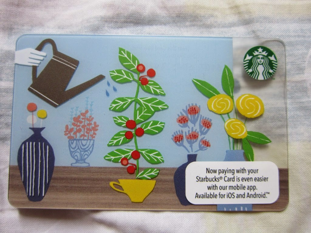 Starbucks Coffee Malaysia Asia Spring 2015 limited edition collectible card
