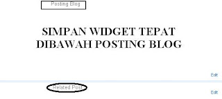 Cara Membuat Widget Related Post Melalui LinkWithin