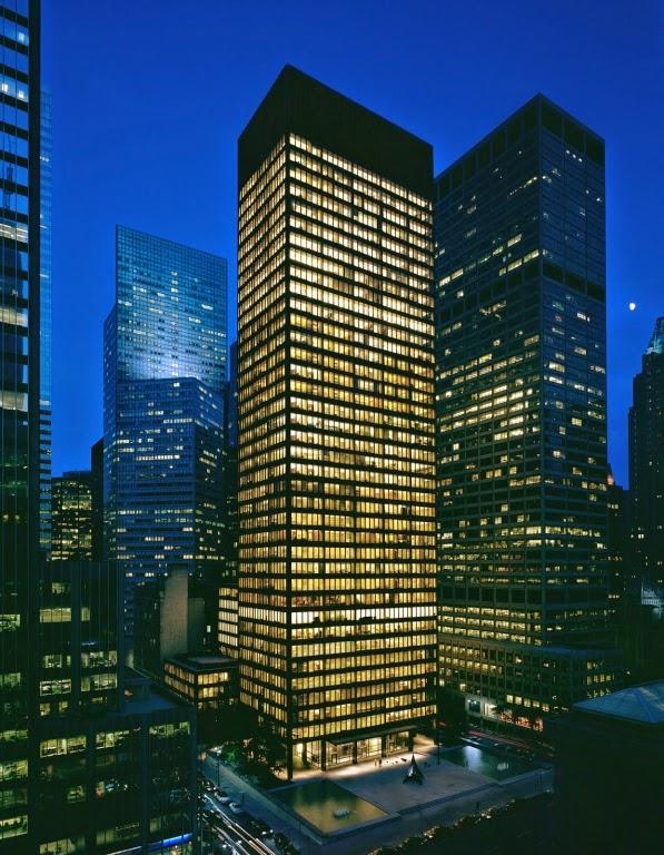 Seagram Building – Công trình kiến trúc nổi tiếng - Biểu tượng của kiến trúc hiện đại