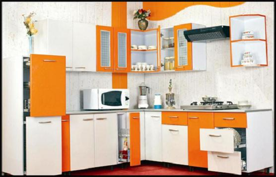 Kitchen Decoration With Cost Efficient Of Modular Kitchen Cabinets