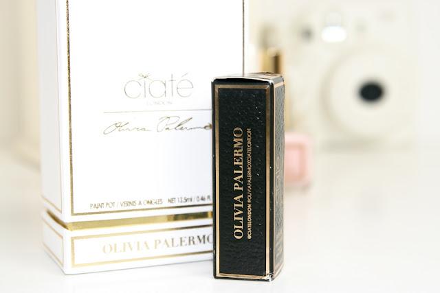 Katherine Penney Chic Blogger Beauty Makeup Nails Polish Gold Lipstick Olivia Palermo Ciaté London New Review