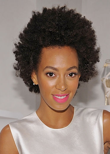 how to get a curly afro with relaxed hair