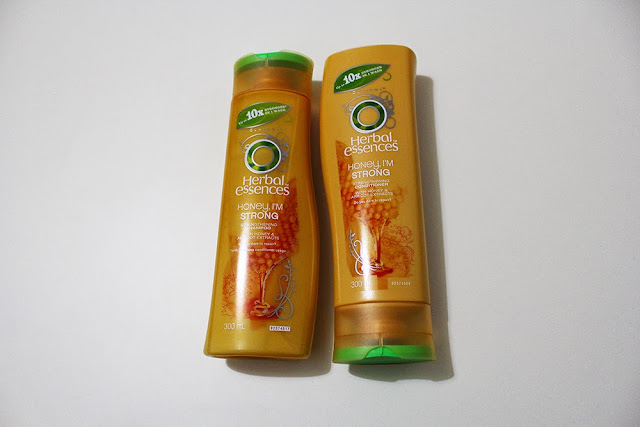 "Herbal Essence ""Honey, I'm Strong"" Shampoo and Conditioner"