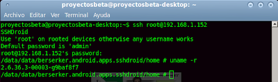 Imagen de ejemplo de uso - ssh en android