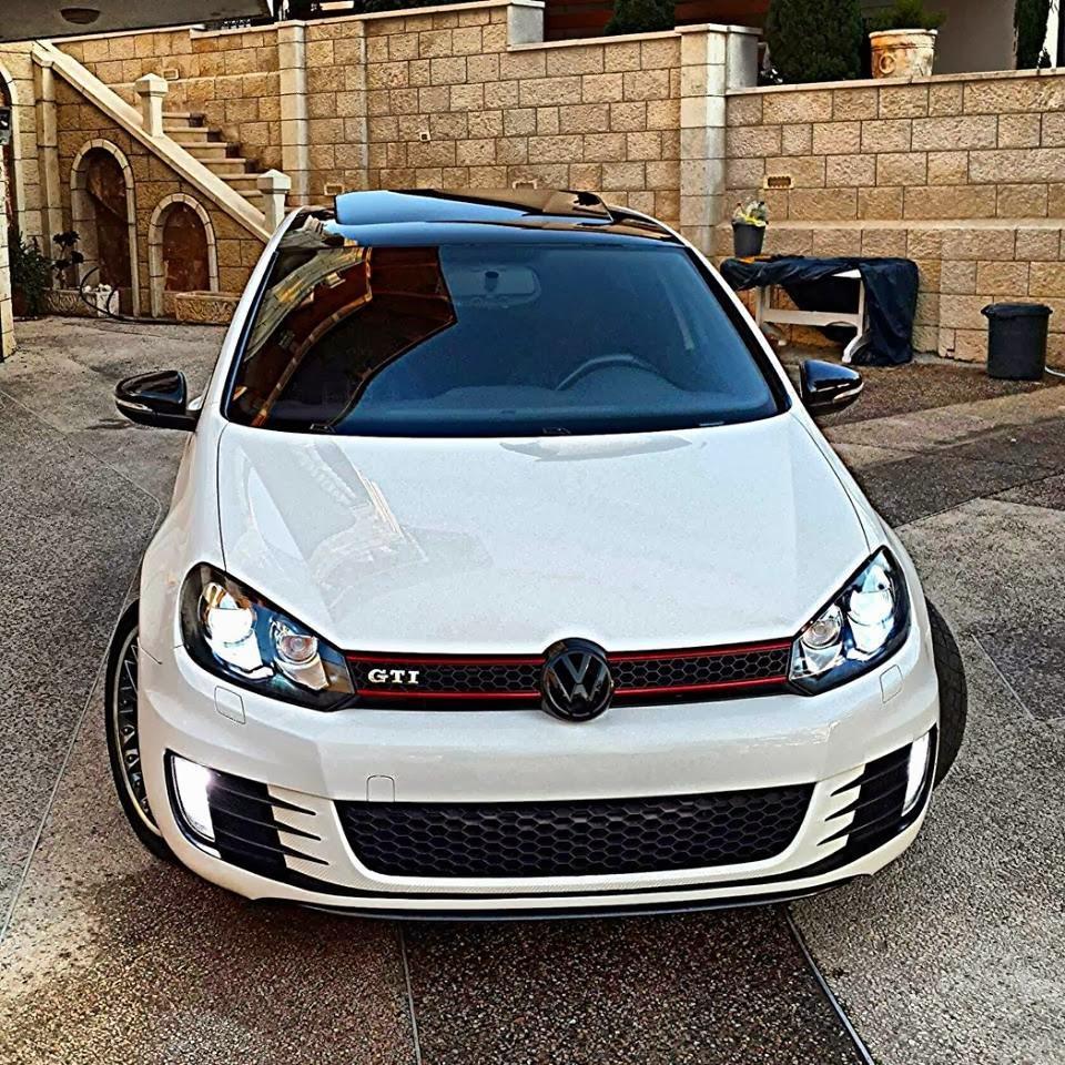 white volkswagen golf mk6 gti automotive car center. Black Bedroom Furniture Sets. Home Design Ideas