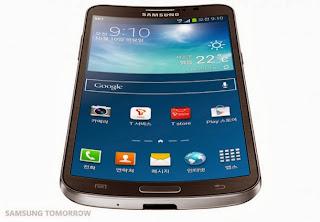 Inilah Spesifikasi Samsung Galaxy Round - Smartphone Layar Lengkung pertama di Dunia