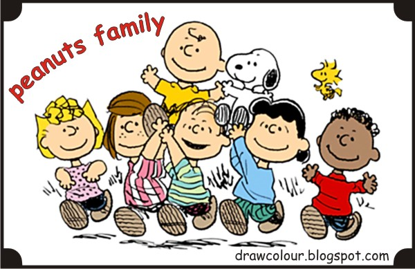 peanuts-family-coloring-pages