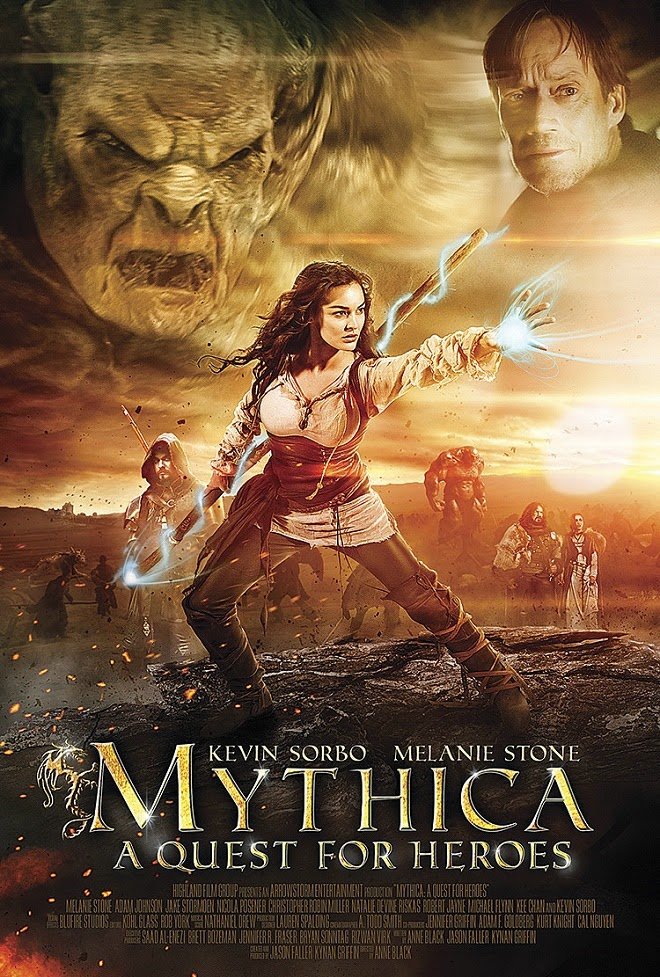 Mythica: A Quest for Heroes – Legendado (2015)
