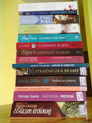 Plany książkowe na najbliższe tygodnie - stos #5/2012
