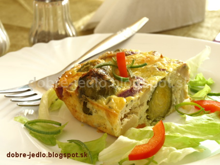 Zapekaná zelenina so syrom - recepty