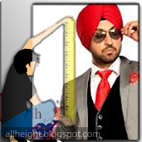 What is the height of Diljit Dosanjh?