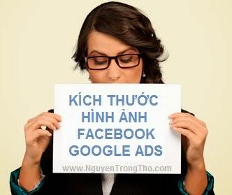 Kích thước Ảnh đăng trên Facebook và Google Adwords