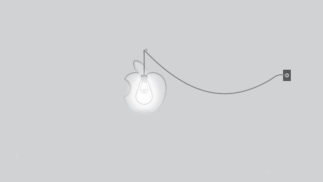 Apple Light White Bulb