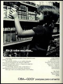 propaganda inseticidas Ciga Geigy - 1972; 1972; os anos 70; propaganda na década de 70; Brazil in the 70s, história anos 70; Oswaldo Hernandez;