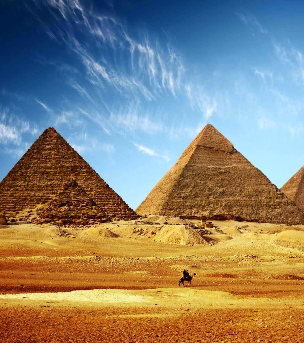 Egypt's Great Pyramid or Giza