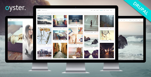 Photography Drupal Theme