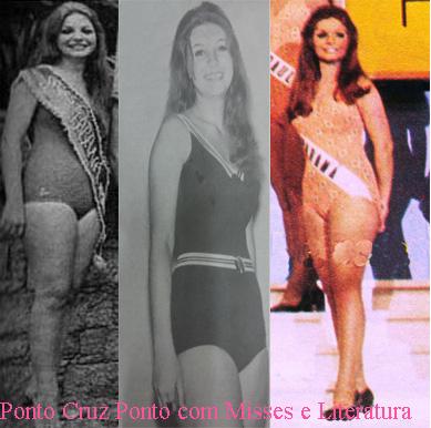 MARIA REGINA CORZÂNEGO - MISS PARANÁ 1970