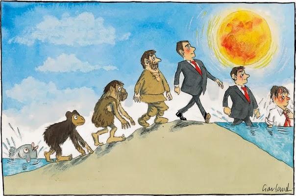 Nicholas Garland: Evolution/Devolution.