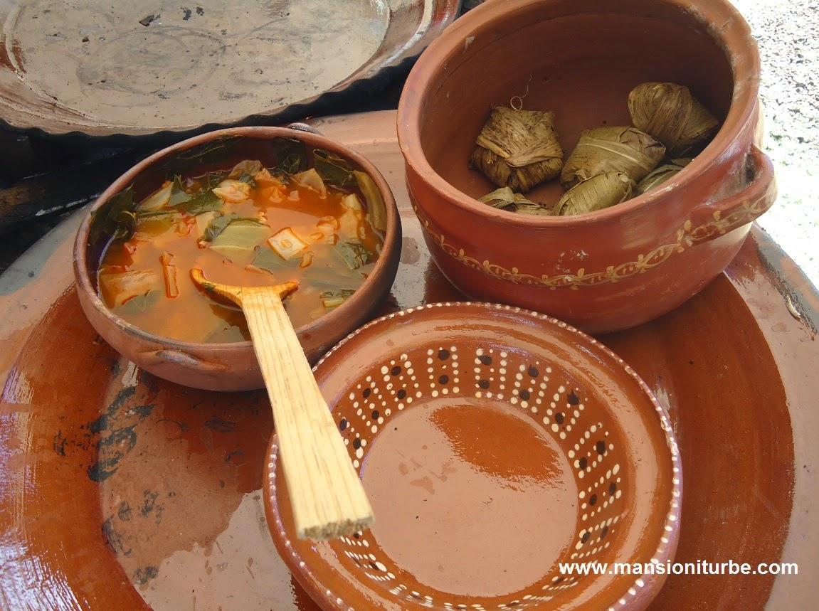 Churipo con Corundas un platillo típico de la Meseta Purpépecha