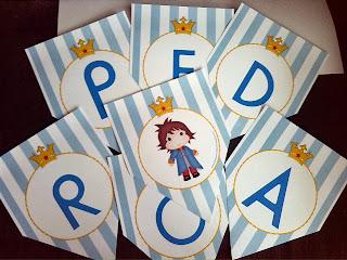 decoração o pequeno príncipe