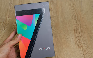 Unboxing Google Nexus 7 4G LTE version, price $ 229