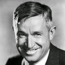 Will Rogers, an American humorist