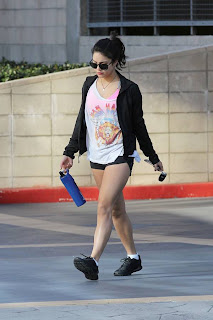 Vanessa Hudgens in Studio City