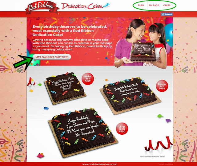 Red Ribbon Birthday Cakes Prices Philippines